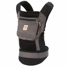 Ergobaby Performance Baby Carrier- Black and Charcoal || Made and designed for active parents, this baby carrier is made with fabric that allows for ultimate breathability, easy wash, and a quick dry. Take your kids on all the adventures wit this amazing baby sling.