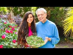Raw Vegan Tabbouleh in the Kitchen with Grandpa! Lebanese Style! - YouTube