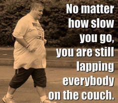 Any shape or size can run if you put your mind to it.