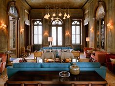 The Hotel Report, Turkey Edition: The Latest From Istanbul and Bodrum Soho House Istanbul Soho House Istanbul, Istanbul Hotels, Restaurant Interior Design, Luxury Interior Design, Best Interior, Interior Garden, Soho House Hotel, Hotel Lounge, Hotel Interiors