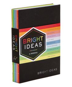 Take a look at this Chronicle Books Bright Ideas Journal: A Journal With 10 Shades of Inspiration today!