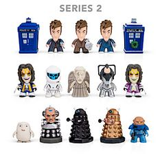 Doctor Who Titan series 2... I just hate that you get random figures. I just want to buy them all without worrying about duplicates! Annoying!
