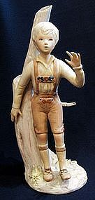 "Cybis ""Hansel"" Porcelain Figurine"