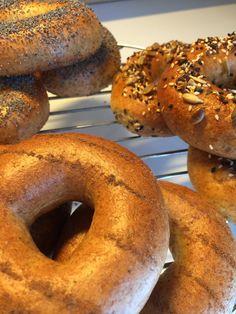 Bagels! Freshly baked.