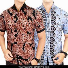gambar baju atasan cowok kombinasi 20 model batik pria yang elegan 061858edb5