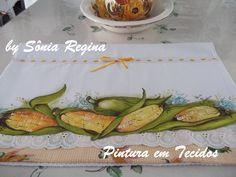 Sônia Regina Pintura em Tecidos e Artesanatos: Minhas Pinturas em Tecidos!!!