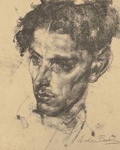 Fine Art - Work on Paper:Print, NICOLAI FECHIN (Russian/American, 1881-1955) Image #1