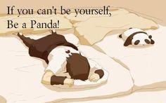 #anime #panda  -Okay!