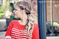 Time Out for Women - {DIY} Braided Ponytail Tutorial