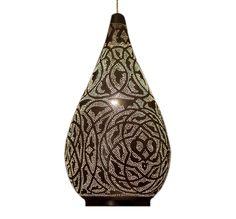 "E Kenoz - Masterfully Crafted 24"" Teardrop-Shaped Moroccan Pendant Lamp , $229.00 (http://www.ekenoz.com/moroccan-lighting/moroccan-lamps/masterfully-crafted-24-teardrop-shaped-moroccan-pendant-lamp/)"
