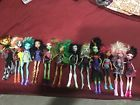 Lot of 12 Monster High Dolls
