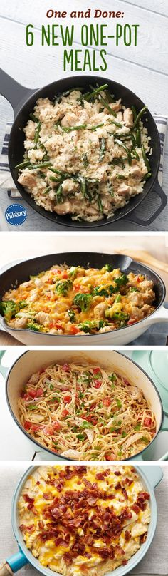 One and Done: 6 New One-Pot Meals - Cozy comfort food made in one pot adds up to less mess, less stress and more family time.