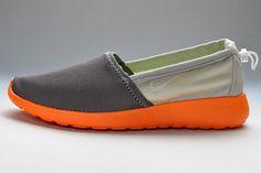 aee6e0bb9a58 Find Nike Roshe Run Slip On Mens Orange Gray Shoes For Sale online or in  Footlocker. Shop Top Brands and the latest styles Nike Roshe Run Slip On  Mens ...