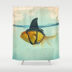Shower Curtain featuring Brilliant DISGUISE by Vin Zzep