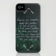 Deep In The Meadow iPhone case...great, now I need an iPhone...
