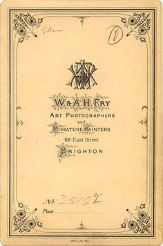 I love Victorian typography and graphics, and this morning I discovered a new source!