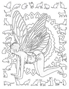Yoga Fairies Coloring Book On Amazon Is A Great Way To Relieve Stress