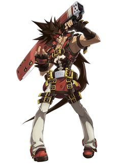 ✧ #characterconcepts ✧ Sol Badguy from Guilty Gear Xrd -Sign-