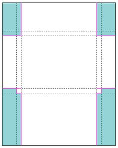 damask love | craft is in session - tutorial for card box - Perforated Note Cards & Card Set Envelope Tutorial