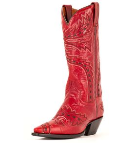 I have Dan Post Boots they are amazing love these in Red! - Women's Sidewinder Boots - Red