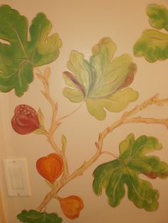 More figs House Art, Figs, Plants, Painting, Decor, Decoration, Decorating, Painting Art, Flora