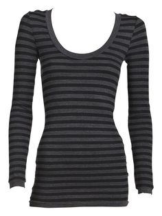 What a great tee for layering!