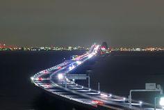 Tokyo Bay Aqua Line.