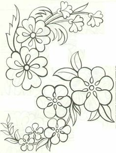 The 533 best riscos images on pinterest embroidery designs very pretty and simple floral vine pattern thecheapjerseys Choice Image