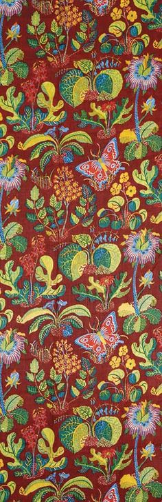 Josef Frank Printed Linen, Botany