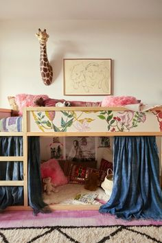 small kids room ideas: Give Your Room the Double-Decker Treatment