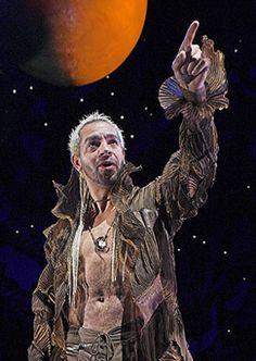 RSC: Joe Dixon as Oberon; A Midsummer Night's Dream 2005