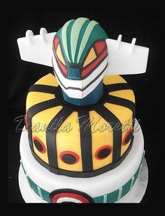 Cake Jeeg Robot - Torta compleanno Jeeg Robot d'Acciaio                                                                                                                                                                                 Mehr