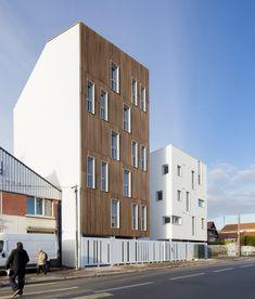 Galería de 16 unidades de vivienda social / Atelier Gemaile Rechak - 6