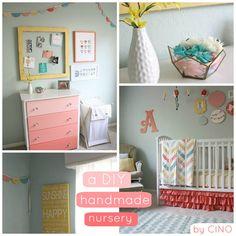 Fun nursery ideas here! #baby