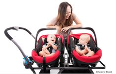 Joovy& durable car seat stroller frame makes it quick and easy to transfer your baby from car to stroller. Buy your efficient stroller frame online today! Twin Baby Girls, Twin Mom, Twin Babies, Little Babies, Twin Strollers, Double Strollers, Baby Transport, Twin Tips, How To Have Twins