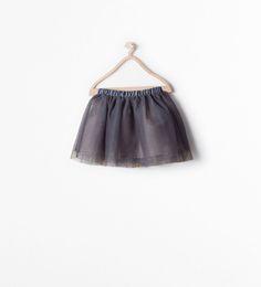 STARS SKIRT from Zara - Grey - $25.90