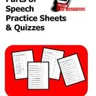 Review and assess parts of speech with your students using these 3 leveled practice sheet and quizzes.Level 1 reviews nouns, verbs, adjectives an...