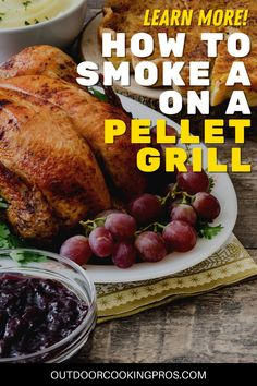 Join us as we talk about Outdoor Cooking Pros' How To Smoke A Turkey On A Pellet Grill. The best way to smoke a turkey is to smoke it on a pellet grill. Spice up your holidays with this mouthwatering smoked turkey recipe. Get that unique smoky and juicy turkey flavor you are craving with pellet grills. Outdoor Cooking Pros is your go-to experts in smoking and grilling ideas. Make your Thanksgiving celebration more exciting with outdoorcookingpros.com. Pellet Grill Turkey Recipe, Smoker Turkey Recipes, Pellet Grill Recipes, Rib Recipes, Thanksgiving Celebration, Thanksgiving Ideas, Grilling Ideas, Grilling Recipes, Turkey Cooking Times