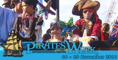 Pirate Week in the Cayman Islands. want to be there.
