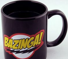 """Bazinga"" Big Bang Theory Mug"