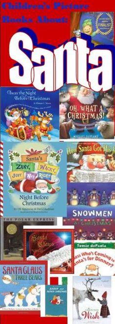 See our list of best children's Santa books at www.purplesantasuit.com