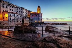 The blue hour...Tellaro di Lerici - Italy by Alessandro Biggi on 500px