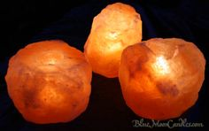 Salt Rock Luminary candle holders...a must have! $17.95 bluemooncandles.com