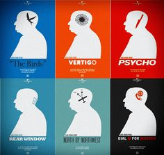 Alfred Hitchcock - Favorite director. Ever!