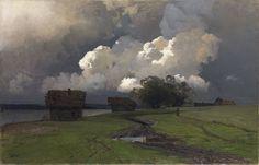 Issac Levitan, 19th century Russian landscape artist