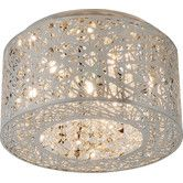 Found it at Wayfair - Inca 7 - Light Flush Mount - I want  In Bronze