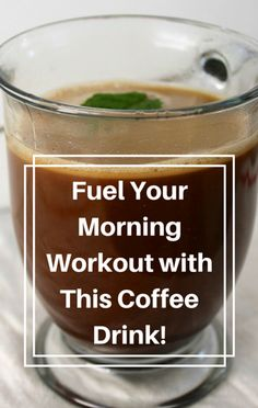 Bob Harper skips breakfast and sips on his special Morning Coffee drink to fuel his workout instead. If you're looking for a way to burn fat and get more energy, give this drink a shot!