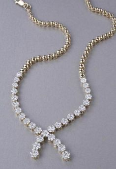 Solitaire diamond necklace- Classic diamond necklace handcrafted in 18 kt YG.