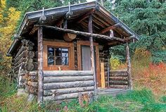 Now that's a log cabin!