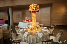 Beautiful centerpiece created for an event at Strathmore!